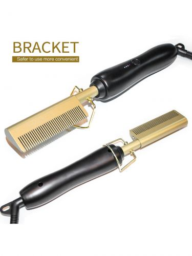 Hair Straightener Flat Irons Straightening Brush Heating Comb BR006