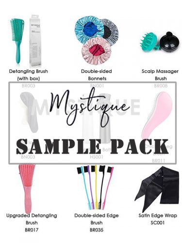 Mystique Hair Care Tools Sample Pack 9 Products SPP002