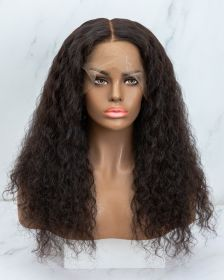 DEEP WAVE VIRGIN HAIR LACE FRONT WIG AYDW