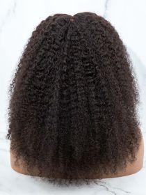 NATURAL CURLY HAIR LACE FRONT WIG AYNC