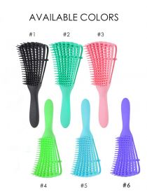 Detangling Brush for Wet Hair Curly Hair Kinky Wavy Hair Coily Hair BR003