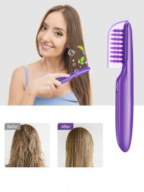 Wet or Dry Electric Detangling Brush with Brush Cover For Adults & Kids BR005