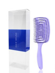 Detangling Brush Perfect Curved & Vented Design Detangler Hair Brush for Women BR010
