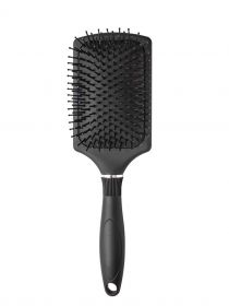 Paddle Hair Brush with Soft Cushion Detangling and Smoothing Hairbrush BR020