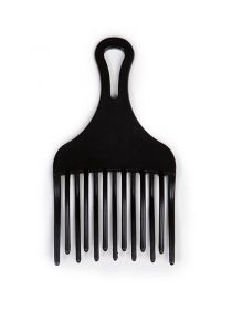 Plastic Afro Hair Pick Comb Tangle-Free Natural Hair Styling Comb BR036