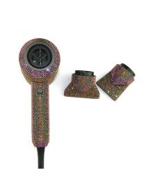 Diamond Hair Dryer Glittering Crystal Blow Dryer Rhinestone Hair Tools Wholesale BR040