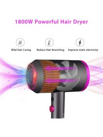 Ionic Hair Dryer 1800W Professional Salon Blow Dryer with Powerful AC Motor for Faster Drying EBR006