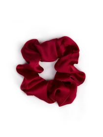 Satin Scrunchies for Hair Soft Elastic Ponytail Holder Hair Bands Scrunchy SC002