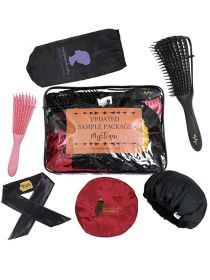 Mystique Logo Custom Hair Care Tools Sample Pack 6 Products SPP003
