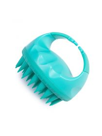 Upgraded Wet and Dry Hair Scalp Massager Brush with Soft Silicone Hair Brush BR054
