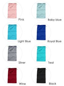 Upgraded Wig Bags Hair Bundles Silk Satin Packaging Bag WB002